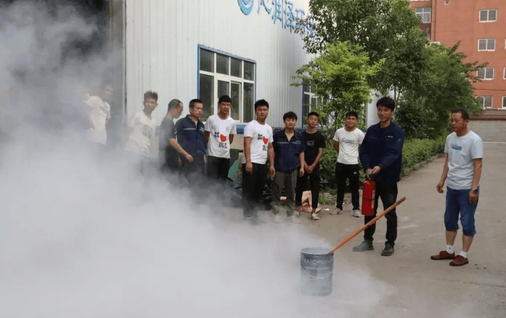 沁润泽环保举行安全生产月培训活动(图8)