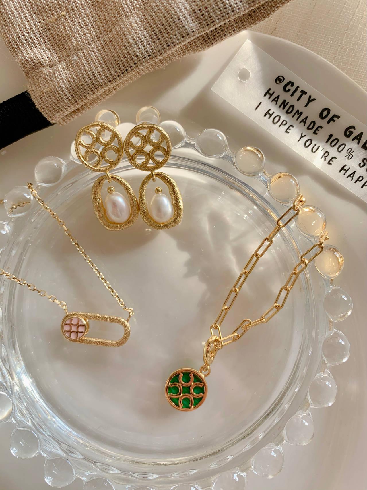 私藏宝藏ORANGE CUBE幸运首饰•开启新年好运的金饰们