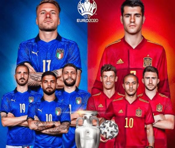 欧洲杯半决赛直播:意大利vs西班牙 蓝衣军团破釜沉舟大战斗牛士军团!