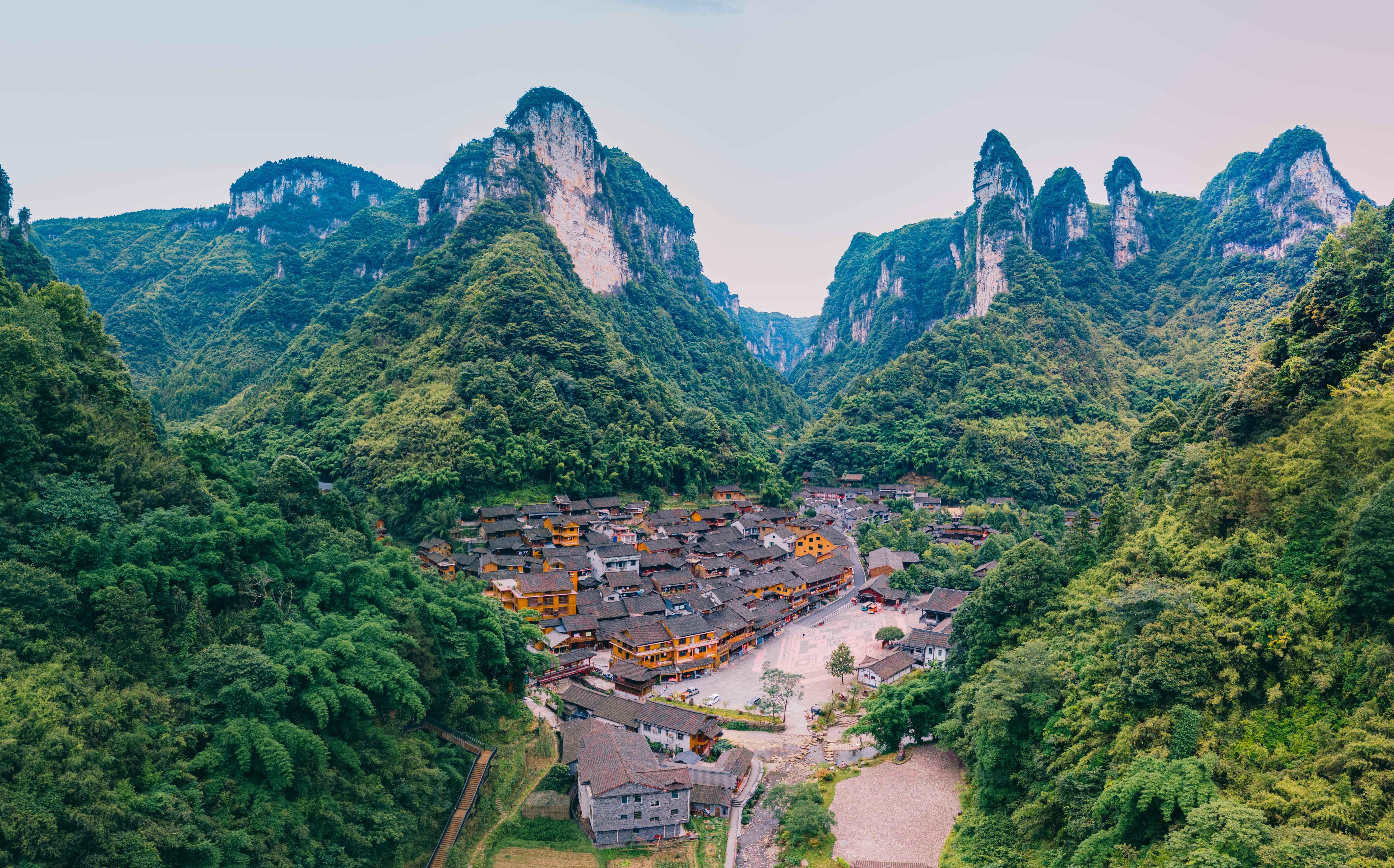 隐秘在湘西大山深处的美景,作为众多影视取景地,你知道在哪儿吗?