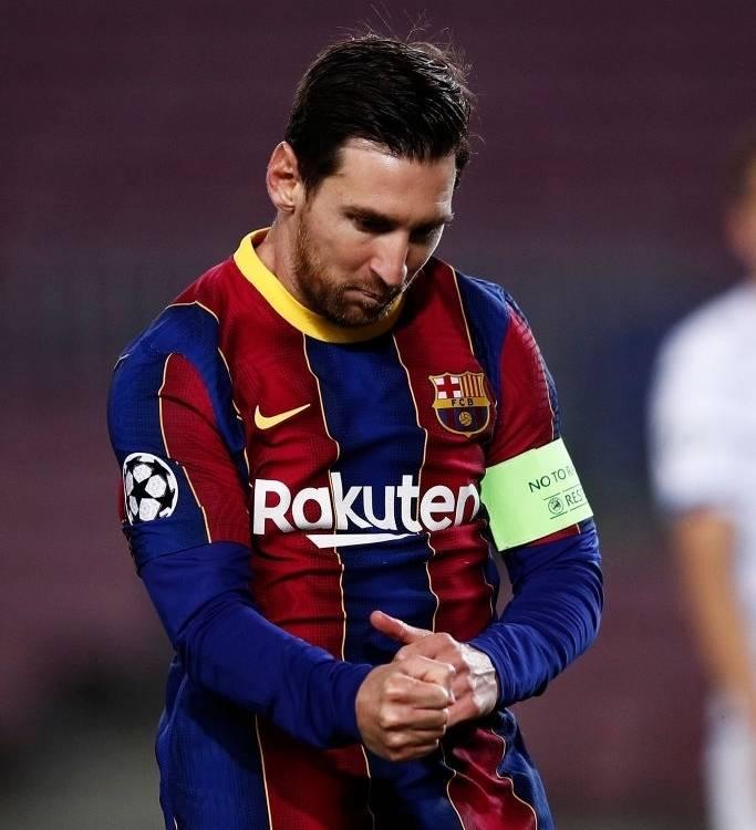 梅西最坏可能几个月没球踢?或者离队?因为巴萨还没解决工资帽!