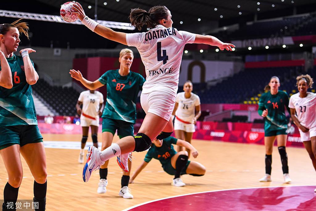 奥运会女子手球小组赛:日本不敌荷兰 挪威战胜韩国