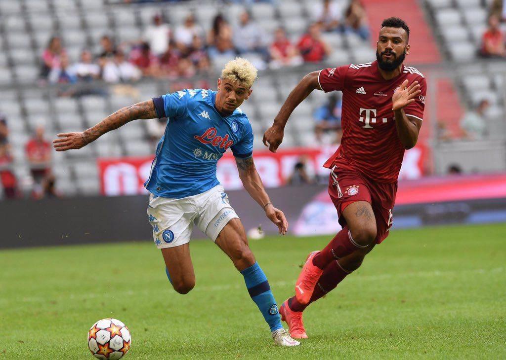 热身赛-科曼伤退多主力归队出战 拜仁0-3那不勒斯