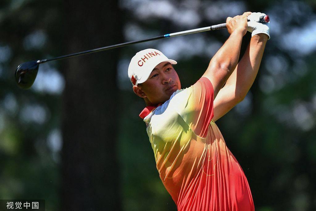 奥运男子高尔夫 美国赞德摘金中国台北潘政琮延长赛夺铜