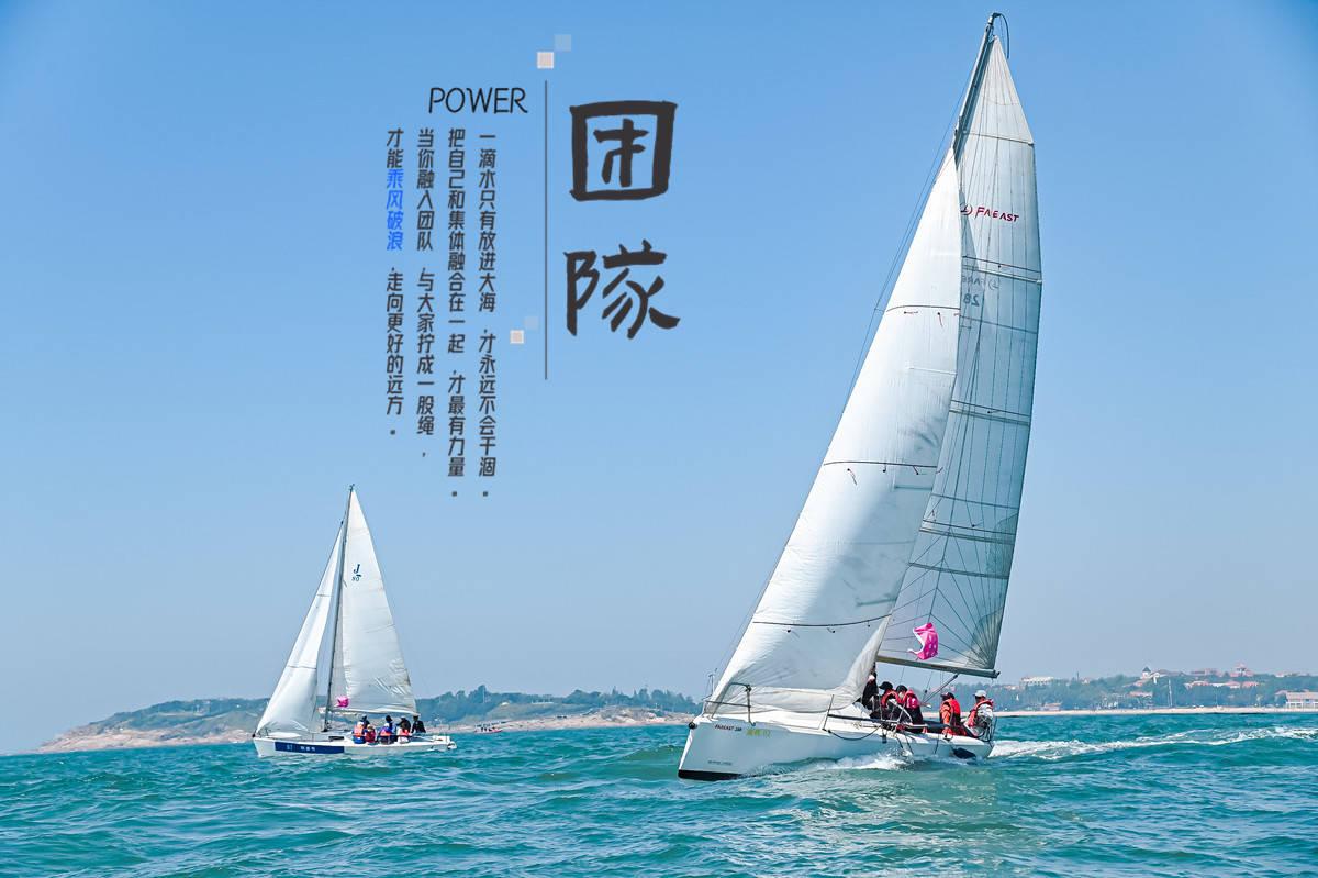 青岛帆船俱乐部搭建帆船团建体系,让帆船团建更出色
