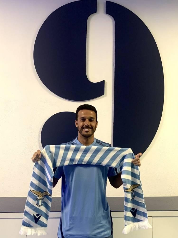 官方:罗马前锋佩德罗加盟拉齐奥 将身披9号球衣
