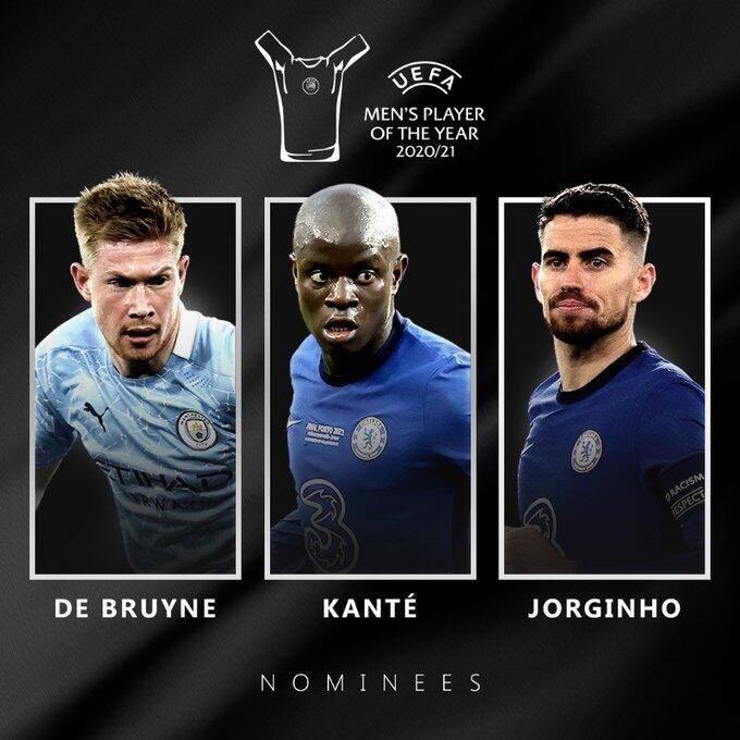 欧足联年度最佳球员候选:坎特进前三 梅西第4C罗第9
