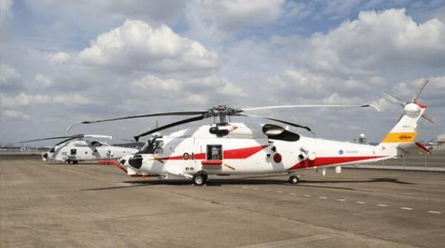 ATLA 收到两架 SH-60K 海军直升机升级型原型