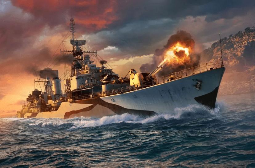 《战舰世界》格罗宁根战力如何?别慌,看看弗里斯兰就知道了