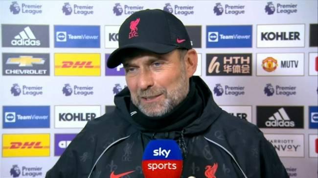 克洛普:C罗的动作应该是红牌 但我不想他被罚下去