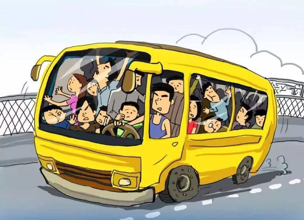 龙圩,7座车硬塞15人,现场画面惊呆交警!
