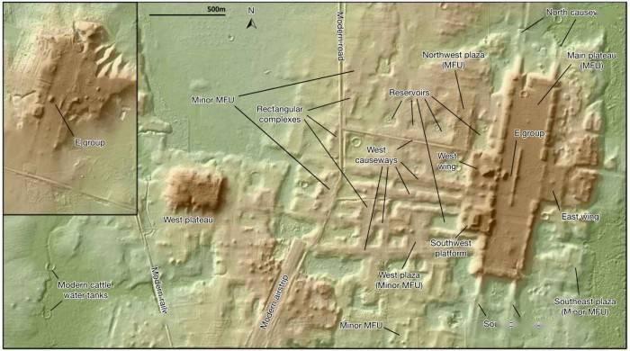 厲害了!激光雷達技術幫助研究人員發現千米長的古代瑪雅建筑