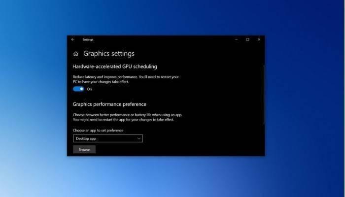 Win10如何启用硬件加速GPU调度的照片 - 1