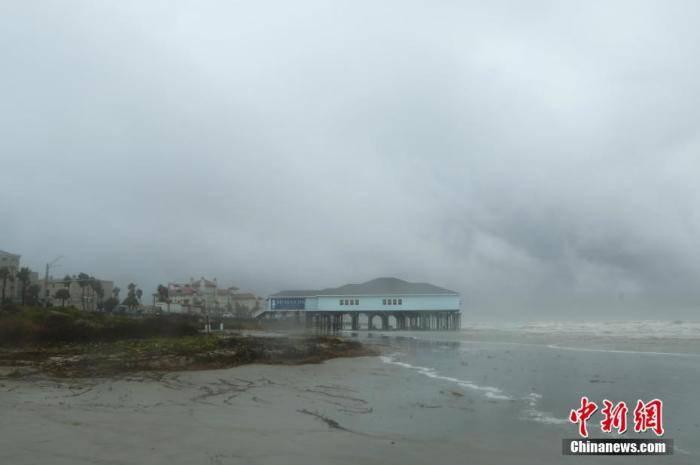 """飓风太多名字不够用 热带风暴""""贝塔""""将袭美得州"""