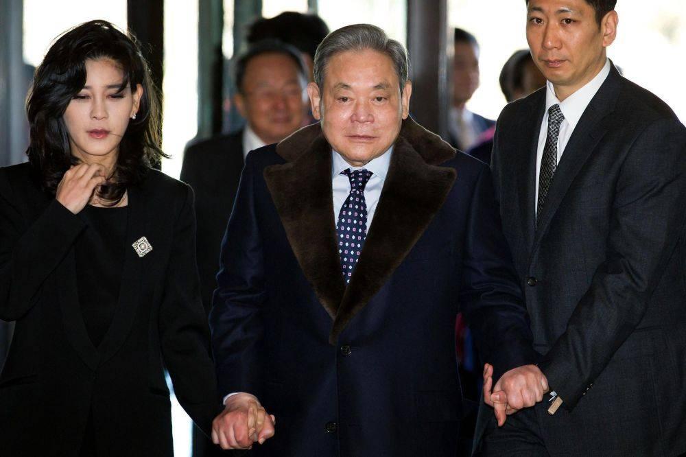 韩媒:已故三星会长李健熙出殡仪式明日举行