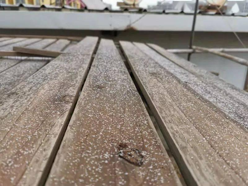 今天昆明真的下雪了……明天开始,气温回升
