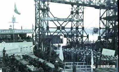 百年瞬间丨南京长江大桥正式开工建设