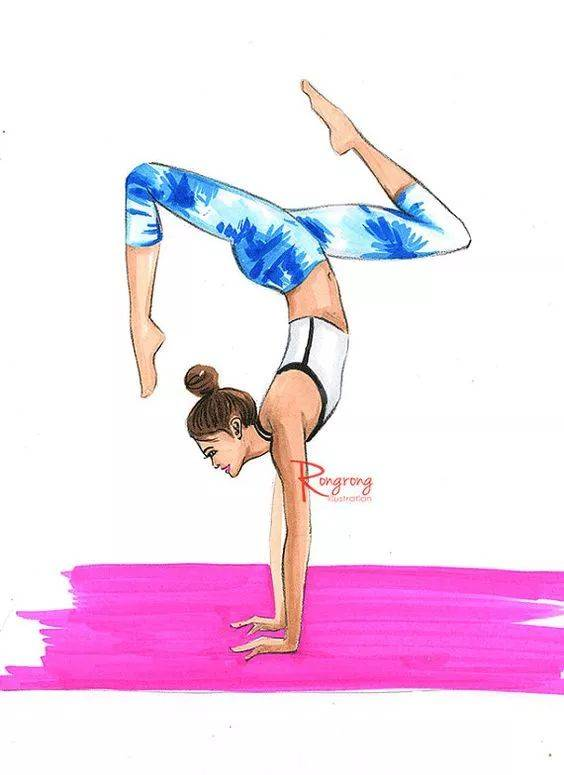 女人为什么一定要练瑜伽?因为穷啊!_没有钱