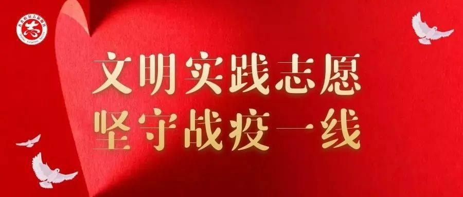 """【文明实践志愿 坚守战疫一线】龙江县:凝聚文明实践力量 , 筑牢红色""""防疫线"""""""