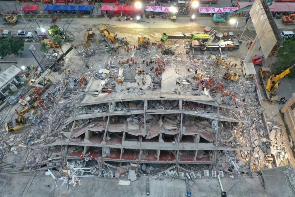 泉州市欣佳酒店餐厅坍塌致29人死亡,安全事故内幕曝光,违反规定细节令人震惊……