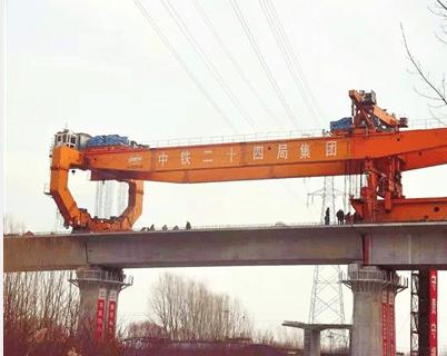 京唐铁路天津段进入无砟轨道施工