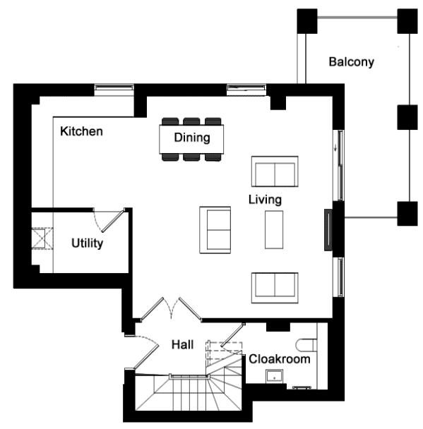 【伦敦格林威治】凯德庄园现房,三卧室顶层观景大房!