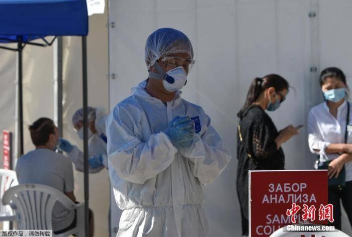 哈薩克斯坦累計確診超22.4萬例 中國檢測車助哈抗疫