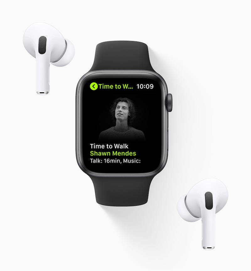 苹果为 Apple Watch 用户带来名人音频步行锻炼功能