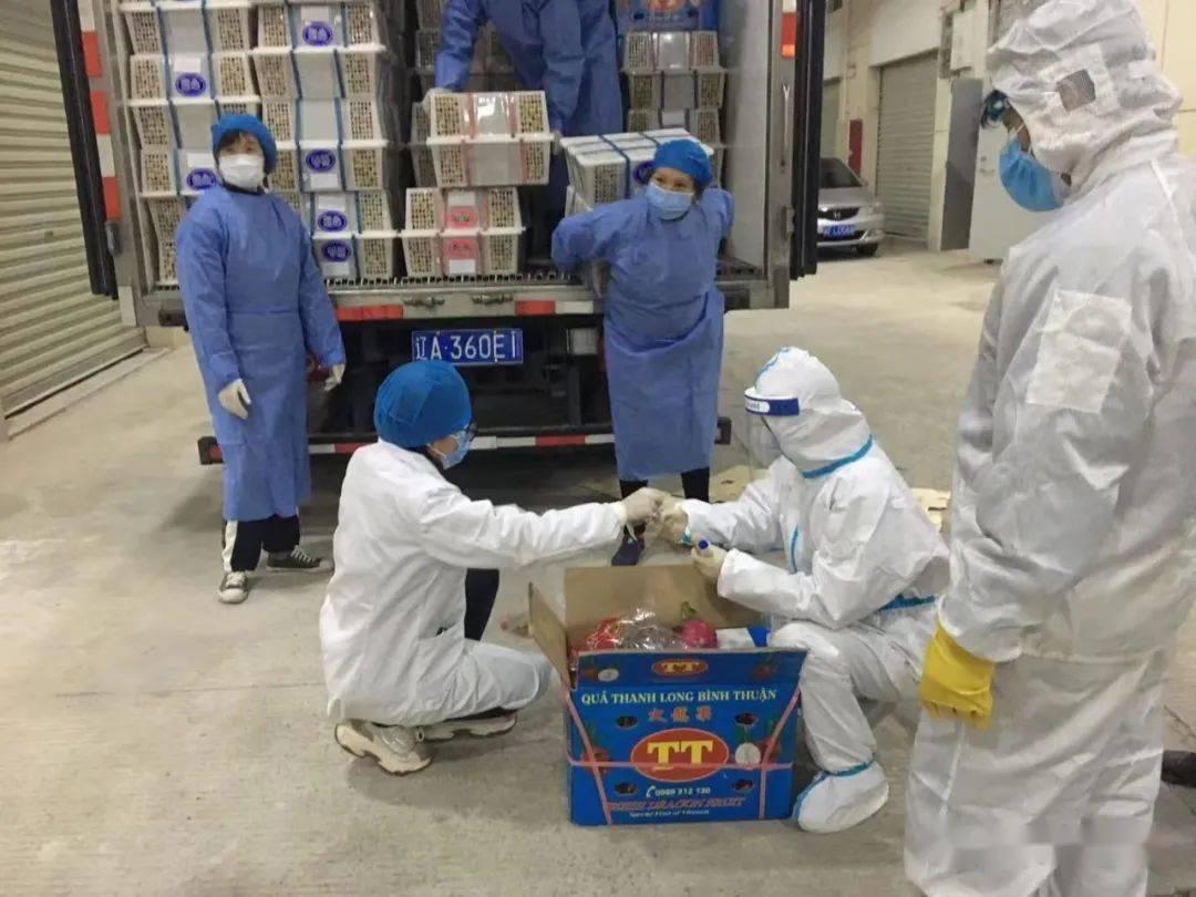 长汀进口冷链食品集中监管仓库迎来第一批进口冷链食品
