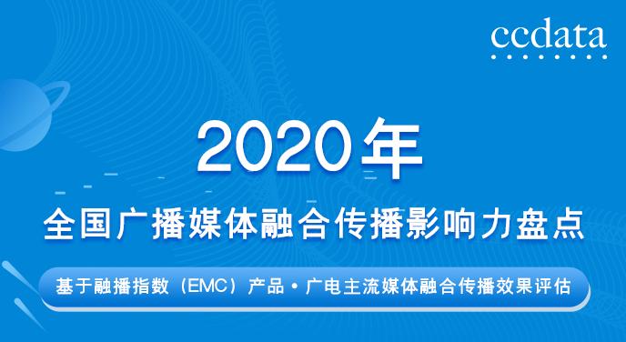 分享| 2020年全国广播媒体融合与传播影响清单