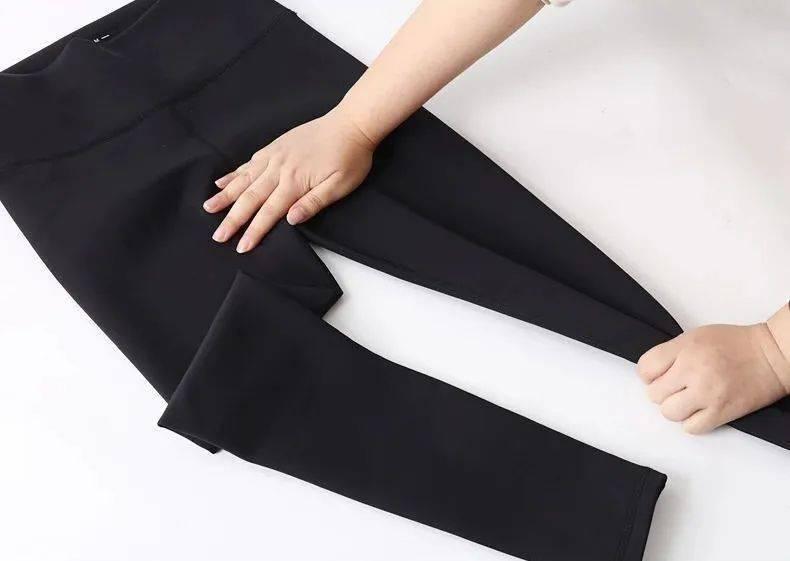 今冬火爆全網的鯊魚褲,一穿收腰提臀,時尚百搭!