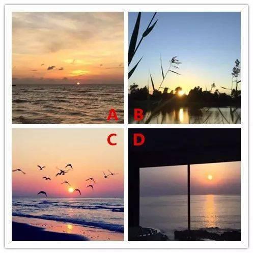 哪个日出你觉得最好看?测你最近会不会遇到真爱