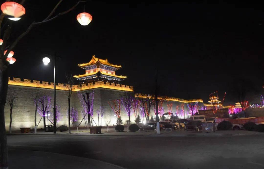 中国年在忻州:忻州古城真红火  第43张