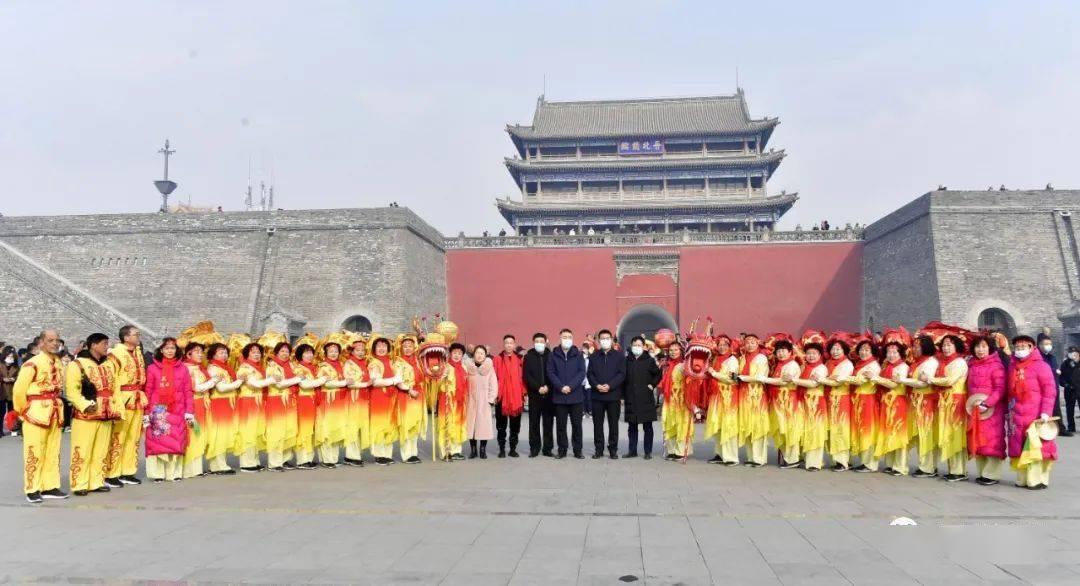 中国年在忻州:忻州古城真红火  第12张