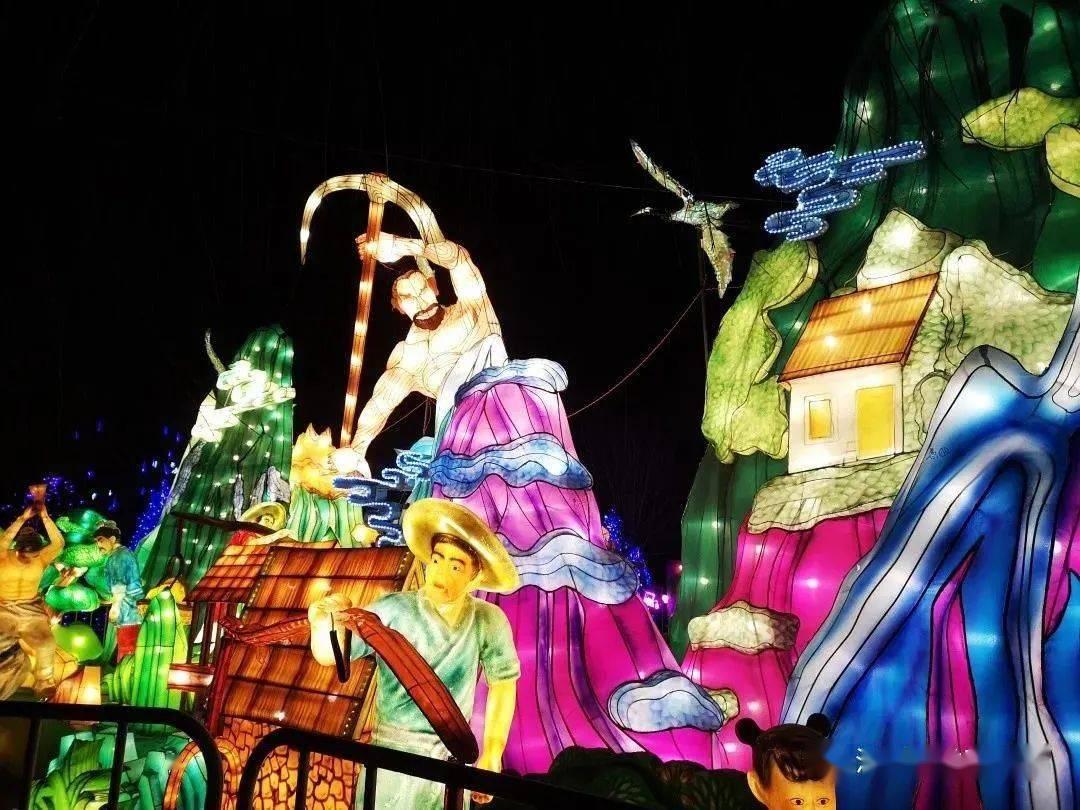 寿阳周边:庙会、灯展、集市!原来这么多春节活动!  第2张