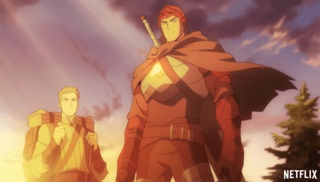 Netflix公开动画《DOTA:龙之血》宣传PV 为网络游戏「DOTA2」的衍生动画