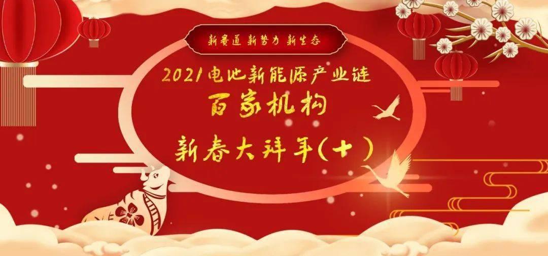 2021电池新能源产业链100家机构新年快乐(10)