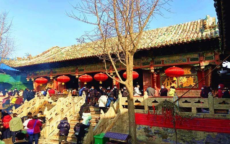 浚县正月古庙会之浮丘山碧霞宫  第5张