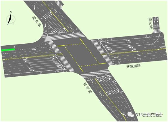 注意!昆明市区这个中心路段交通有调整!