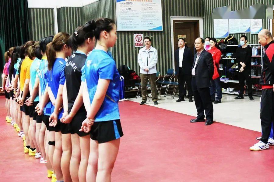 自治区体育局党组深入运动队调研奥运会、全运会备战工作