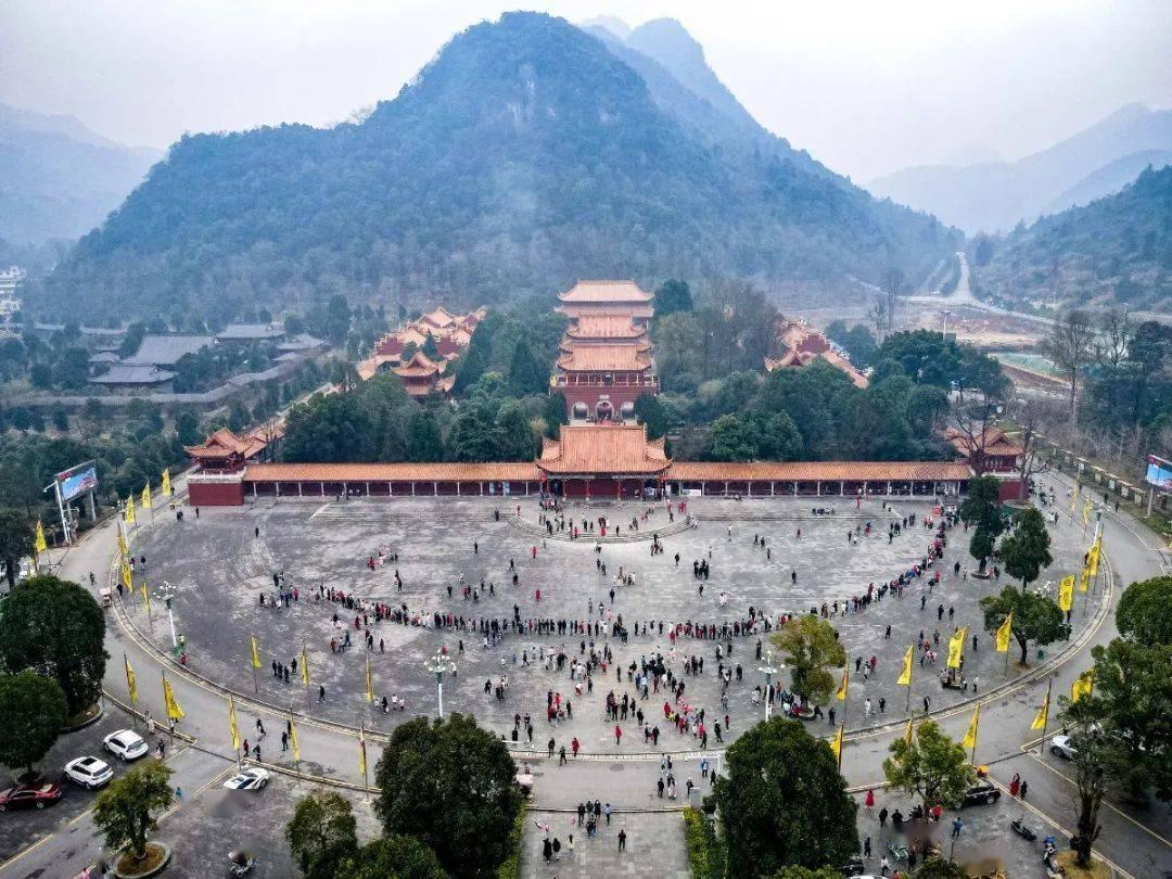 2021就地过年,九嶷山景区年味十足
