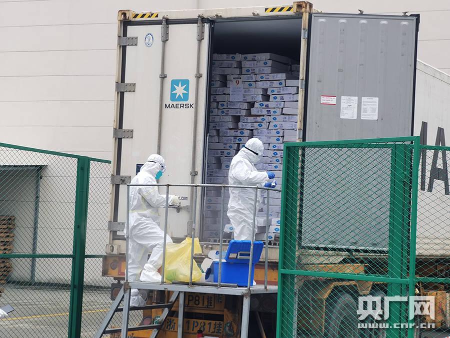 浙江省集中监管仓已成功阻断5批阳性进口冷链食品流入市场