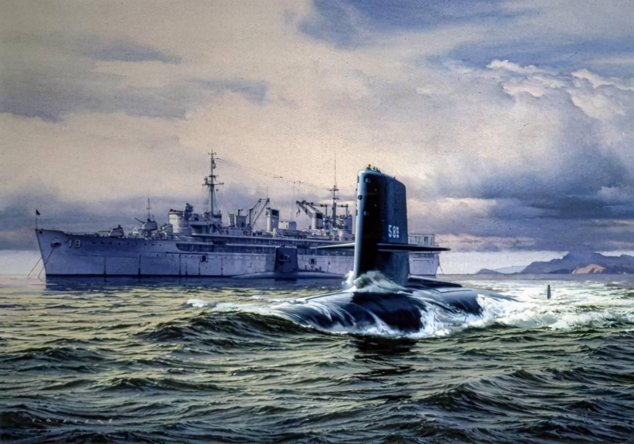 美国天蝎号核潜艇沉没,99人死亡!2名艇员提前下船,躲过死神