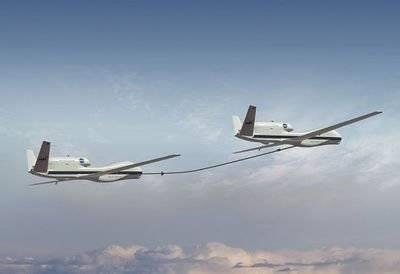 无人机空中加 油如何举行?