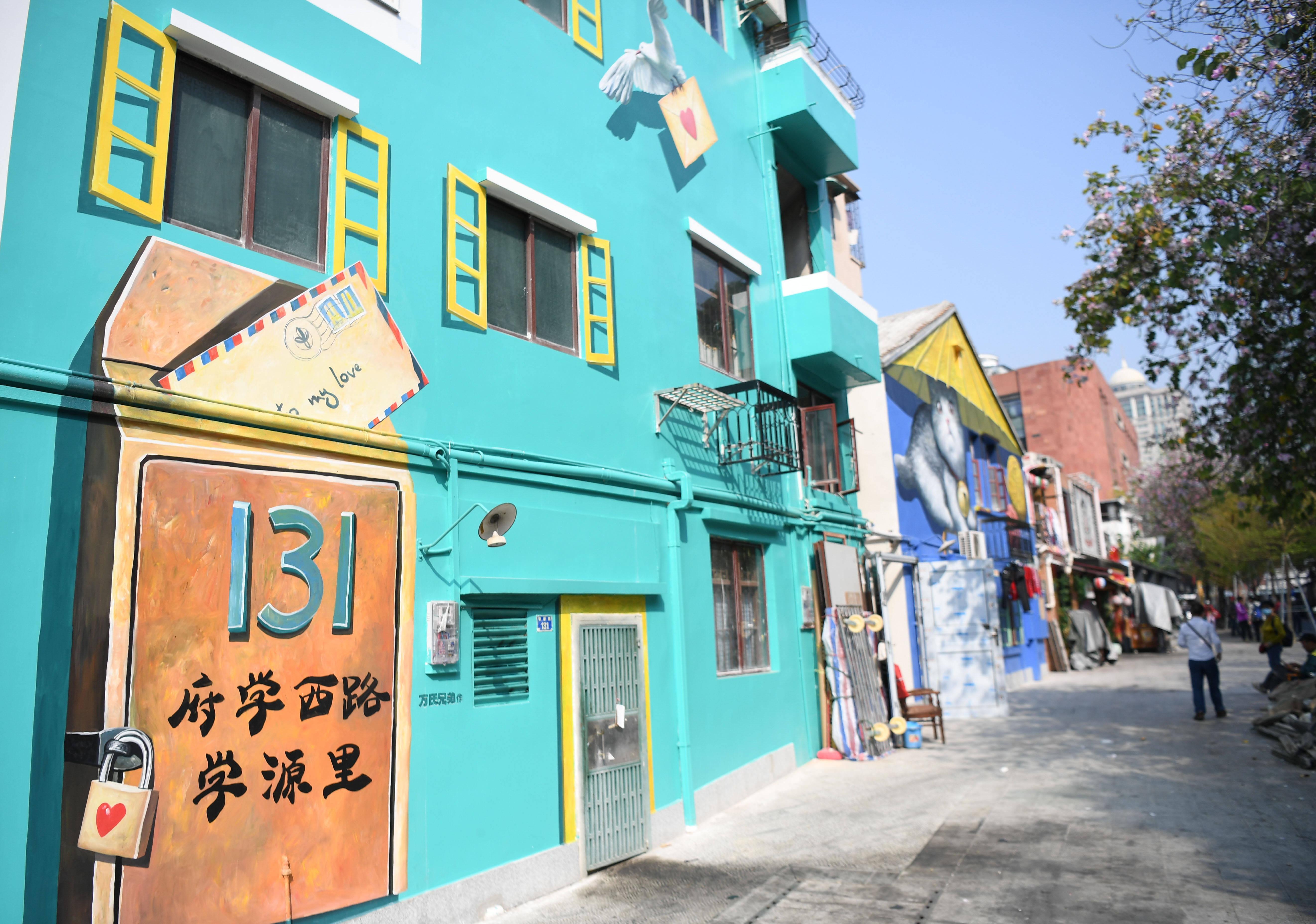 广州:老街变身网红打卡地