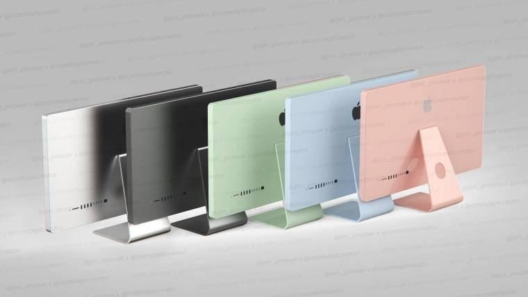 外媒:苹果下一代iMac预计会有一个多彩的外壳