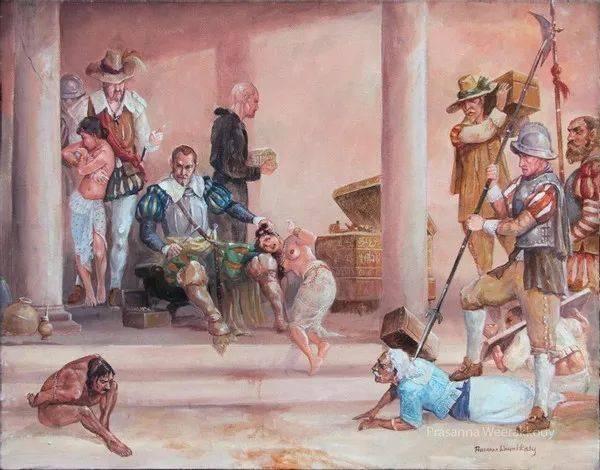 甘诺鲁瓦山战役:葡萄牙帝国的独霸斯里兰卡梦破碎