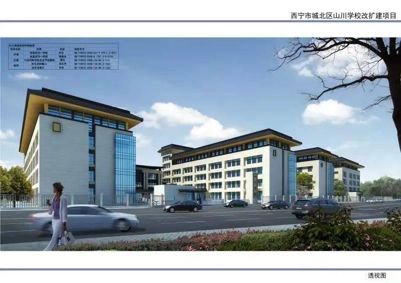 西宁北川学校9月投入使用,还有...