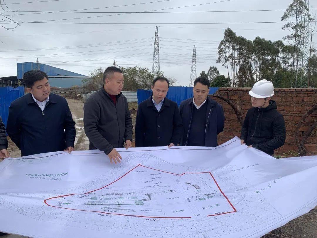 广西贺州钟山县规划图