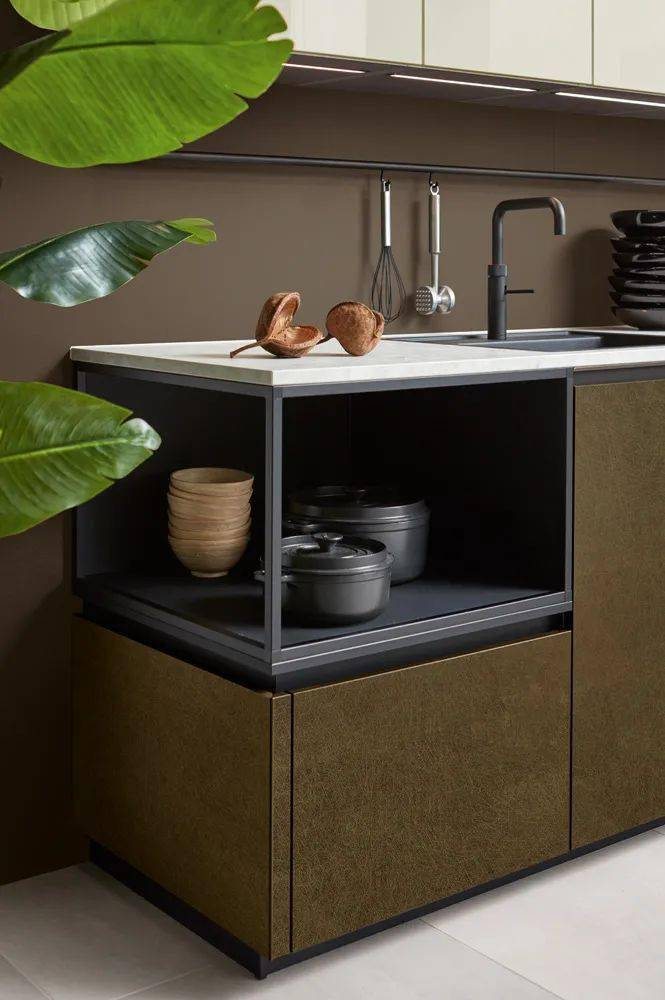 展开全文 Pronorm 厨房设计 追求完美和稳重